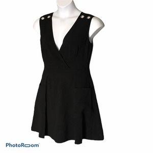 RACHEL Rachel Roy black dress NWT size 6